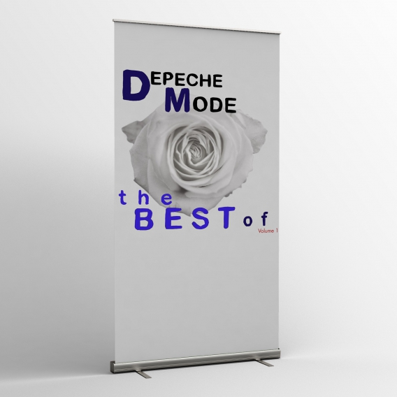 Depeche Mode - Textile banners (Flag) - The Best Of Volume 1