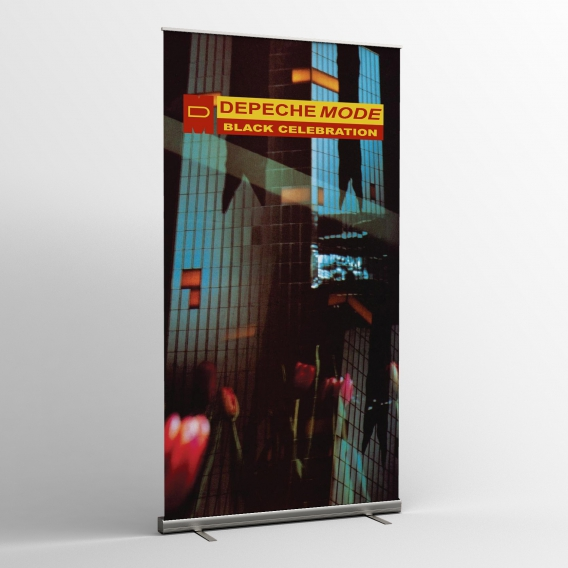 Depeche Mode - Textile banners (Flag)- Black Celebration