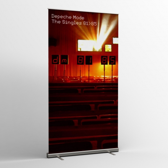 Depeche Mode - Textile banners (Flag) - The Singles 81-85