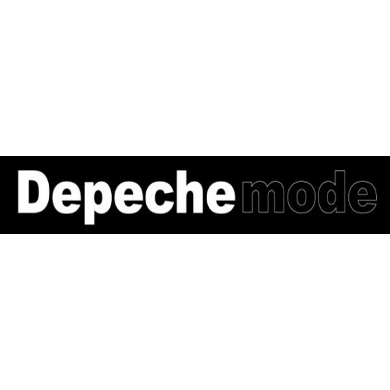Depeche Mode - Textile banners (Flag) - Inscription in Violator style