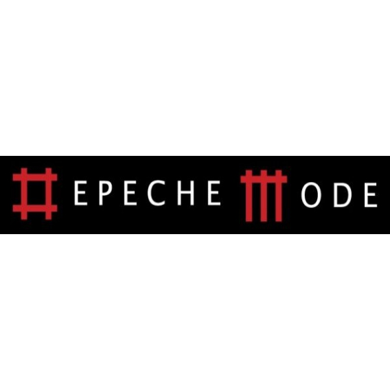 Depeche Mode - Textile banners (Flag) - Inscription in Sounds of the Universe style