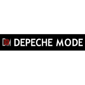 Depeche Mode - Textile banners (Flag) - Inscription in Music For The Masses style