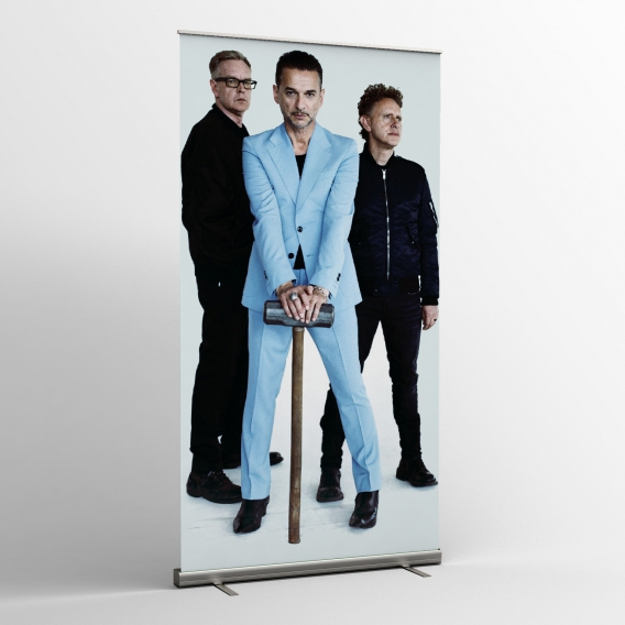 Depeche Mode - Textile banners (Flag) - Photo tour