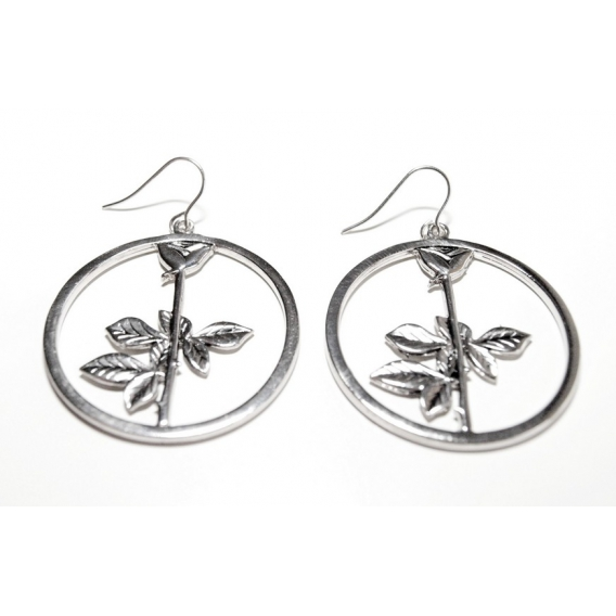Depeche Mode -  Women earrings  Rose