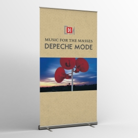Depeche Mode - Banner - Music For The Masses