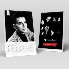 Depeche Mode - Desk Calendar 2019 (A5)
