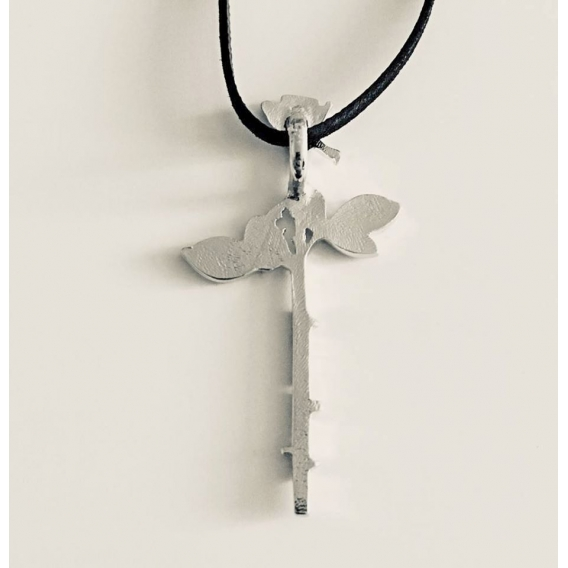 Depeche Mode - Pendant - Enjoy the Silence Rose (Silver)