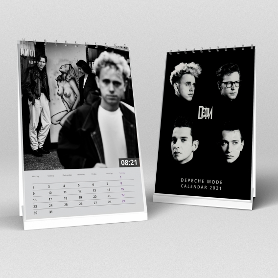 Depeche Mode - Desk Calendar 2021 (A5)