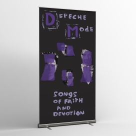 Depeche Mode - Textile banners (Flag) - Songs Of Faith And Devotion