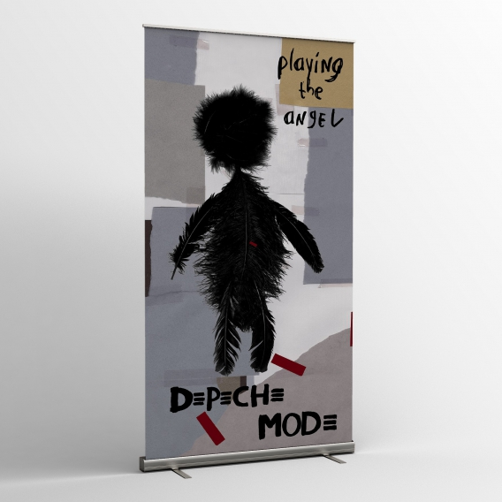 Depeche Mode - Textile banners (Flag) - Playing the Angel